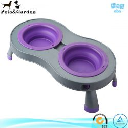 Best Elevated Travel Dog Bowl Dog Feeder Dish Food Water Bowl