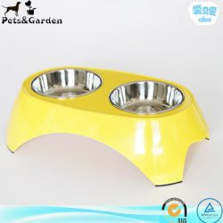 raised pet bowl