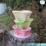 5-Tier Stackable Strawberry, Herb, Flower, & Vegetable Planter